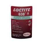 Loctite 638 Retaining Compound Green Liquid 1 L Bottle - 00641