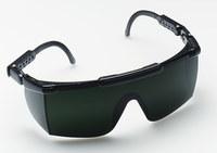 3M Nassau 14460-00000-20 Polycarbonate Standard Welding Glasses Shade 5.0 Lens - Black Frame - Half Frame - 078371-62275