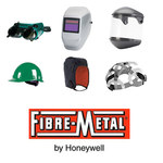 Fibre-Metal Dual Crown F400DC Clear General Purpose Face Shield & Headgear Set - Uncoated - FIBRE-METAL FM5500DCCL