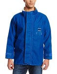 Ansell Sawyer-Tower 66-670 Blue 4XL Flame-Resistant Jacket - 30 in Length - 076490-05342