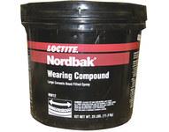 Loctite Nordbak Gray Ceramic Epoxy - Putty 5 lb Pail - Two-Part Base & Accelerator (B/A) 2:1 Mix Ratio - 43883