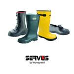 Servus 7361 Black 10 Waterproof & Rain Overboots/Overshoes - 4 in Height - Rubber Upper and Rubber Sole - 7361 SZ 10