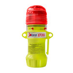 PIP E-Flare 939-EF350 Red Safety Beacon - (4) x AA Alkaline Battery Powered - 6 in Height - 1.6 in Overall Diameter - 616314-96884