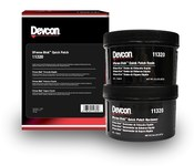 Devcon DFense Blok 13505 Gray Ceramic Epoxy - Putty 1 lb Tub - 1:1 Mix Ratio - 11320