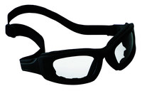 3M Maxim 2x2 40686-00000 Polycarbonate Standard Safety Goggle Clear Lens - Black Frame - Non-Vented - 078371-62166