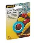 3M Scotch FA2038 Artist Tape - 1/6 in Width x 10 yd Length - 93613