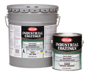 Krylon Industrial Coatings K0686 White Epoxy - Liquid 1 gal Can - One-Part Accelerator (Part A) 1:1 Mix Ratio - 02433