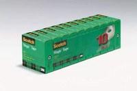 3M Scotch 810K10 Magic Clear Office Tape - 3/4 in Width x 1000 in Length - 51069