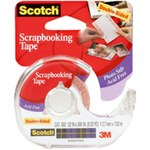 3M Scotch 002 Photograph Tape Specialty Application Tape - 1/2 in Width x 300 in Length - 59282