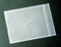 3M NP9 Clear Polyethylene Label Protective Envelope - 7 in Width - 6 in Height - 37589