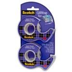 3M Scotch 15DM-2 GiftWrap Clear Office Tape - 3/4 in Width x 600 in Length - 80186