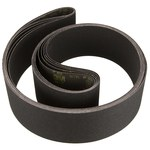 3M 461F Coated Silicon Carbide Sanding Belt - P80 Grit - 3 in Width x 21 in Length - 04305