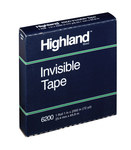 3M Highland 6200 Clear Office Tape - 1 in Width x 2592 in Length - 07447