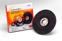 3M Cubitron II Standard (Type 27) Ceramic Aluminum Oxide Depressed-Center Wheel Trial Pack - 4 1/2 in Diameter - 4/8 in Center Hole - 1/4 in Thick - 64998
