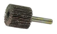 Weiler Tiger Coated Aluminum Oxide Flap Wheel - 1 in Face Width - 1 in Diameter - 52003