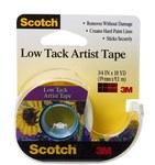 3M Scotch FA2020 Artist Tape - 3/4 in Width x 10 yd Length - 93610