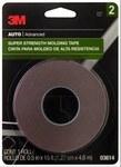 3M Scotch Mount 03614 Molding Automotive Tape - 1/2 in Width x 15 ft Length