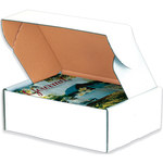 "Deluxe Literature Mailers, 11 1/8"" x 8 3/4"" x 5"" - 50 EACH PER BUNDLE"