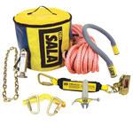 DBI-SALA Saflok Wood Pole Fall Protection Kit - 80 ft Length - 648250-16503