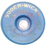 Chemtronics Soder-Wick #75 Yellow Unfluxed Desoldering Wick or Braid 75-2-10 - 10 ft Length - 0.06 in Diameter