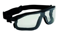 3M Maxim Plus 12305-00000-20 Polycarbonate Safety Goggles Clear Lens - Non-Vented - 078371-12305