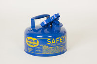 Eagle Blue Galvanized Steel 1 gal Safety Can - 8 in Height - 9 in Overall Diameter - 048441-22123