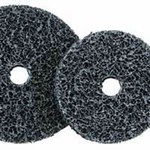 Dynabrade Non-Woven Synthetic Fiber Disc - Coarse Grade - 5 in Diameter - 1/2 in Center Hole - 78142