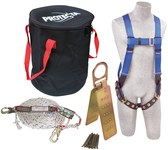 Protecta Compliance in a Can Roofer's Fall Protection Kit - Polyester Webbing - 50 ft Length - 648250-16036