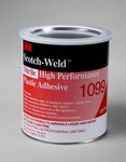 3M Scotch-Weld High Performance 1099 Nitrile Plastic Adhesive Tan Liquid 1 gal Can - 19813