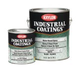 Krylon Industrial Coatings K0244 White Epoxy - Liquid 4 gal Pail - Accelerator (Part A) 4:1 Mix Ratio - 02491