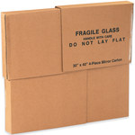 "1 Piece of 30"" x 40"" 4-Piece Mirror Boxes, 30"" x 40"" x 3 1/2"" - 4 EACH PER BUNDLE"