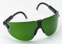 3M Lexa 15211-00000-20 Medium Polycarbonate Welding Glasses Shade 3.0 Lens - Black Frame - Wrap Around Frame - 078371-62292