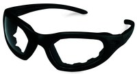 3M Maxim 2x2 40696-00000 Polycarbonate Standard Safety Goggle Clear Lens - Black Frame - Direct Vent - 078371-62169