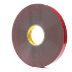 3M RP45F Gray VHB Tape - 1 in Width x 36 yd Length - 45 mil Thick - 63629