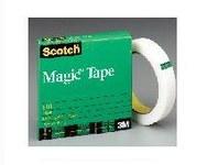 3M Scotch 810 Magic Clear Office Tape - 3/4 in Width x 2592 in Length - 05904