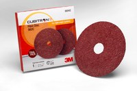 3M Cubitron II 982C Coated Ceramic Brown Fibre Disc Trial Pack - Fibre Backing - X Weight - 36 Grit - Very Coarse - 4 1/2 in Diameter - 7/8 in Center Hole - 86942