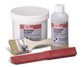 Bonderite Nordbak Blue Ceramic Epoxy - Liquid 2 lb Kit - Base & Accelerator (B/A) 2.75:1 Mix Ratio - 40591