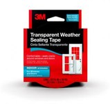 3M 2110NA Clear Flashing Tape - 1 1/2 in Width x 30 ft Length - 01809