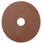 Weiler AL-tra CUT Aluminum Oxide Deburring Disc - Very Coarse Grade - Arbor Attachment - 4 1/2 in Diameter - 7/8 in Center Hole - 59821