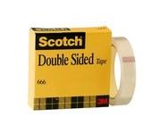 3M Scotch 666 Office Tape - 1 in Width x 1296 in Length - 07340