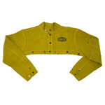 West Chester Ironcat 7000 Yellow 4XL Leather Welding & Heat-Resistant Cape Sleeves Only - Fits 34 in Chest - 662909-003614