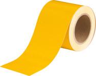 Brady 36287 Yellow Pipe Banding Tape - 4 in Width - 30 yd Length - B-946
