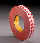 3M 9088 Clear Bonding Tape - 1 in Width x 55 yd Length - 8.3 mil Thick - Glassine Paper Liner - 07783