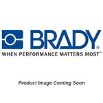 Brady B-7537 PVC Rectangle IMO Evacuation Sign - 72 mm Width x 142 mm Height - Glow in the Dark - TEXT: IMO - 95602