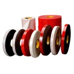 3M 5925 White VHB Tape - 1 in Width x 72 yd Length - 25 mil Thick - 63866