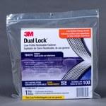 3M Dual Lock TB4570 Clear Hook & Loop Tape - Mushroom Hook with 400 stems/in Stem Count - 1 in Width x 10 ft Length - 97635