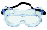 3M 334AF Polycarbonate Standard Safety Goggle Clear Lens - Indirect Vent - 078371-62140