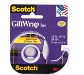 3M Scotch 15 Clear Office Tape - 3/4 in Width x 650 in Length - 65773