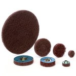 Standard Abrasives Buff and Blend 844016 GP A/O Aluminum Oxide AO Deburring Disc - 18 in Diameter - 2 1/2 in Center Hole - 42308