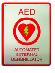 Zoll AED Plus 8000 Wall Sign - 8000-0825